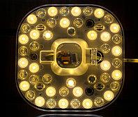 Светодиодная плата панель, 16х16 см (2 типа свечения)