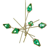 Люстра Harlow chandelier-6 (Green)