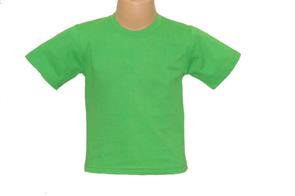 Детская Футболка, Зеленый