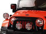 Электромобиль Jeep Wrangler FB-716, хаки, фото 4