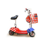Электроскутер E-Scooter XHD 250W Red (hub_np2_0095)