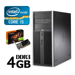 Системный блок  intel Core i5 3800GHZ/4Gb/HDD500Gb