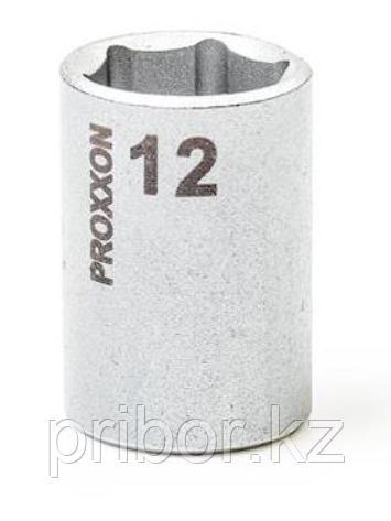 "23726 Proxxon Торцевая головка на 1/4"", 12 мм"