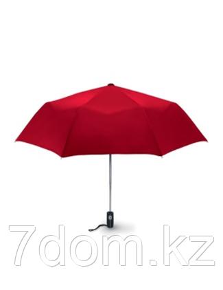 Зонт складной красный, фото 2