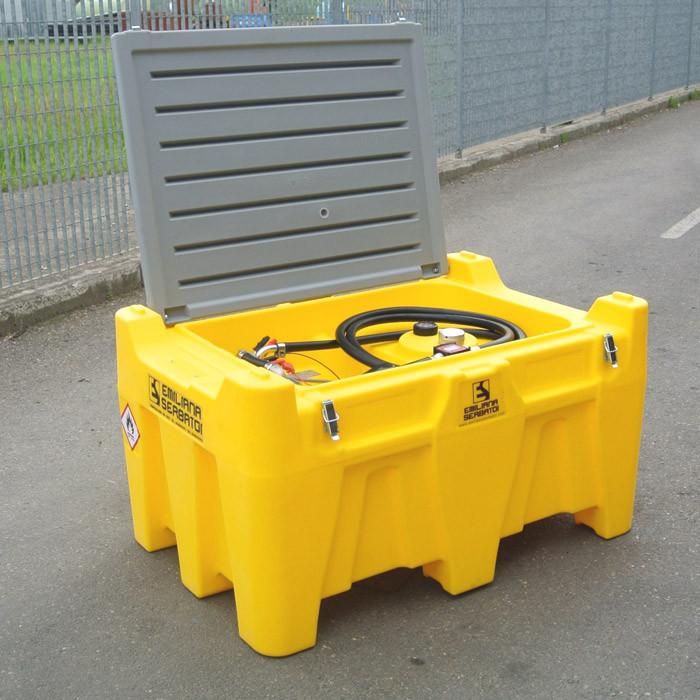 Мобильный резервуар для дизельного топлива 330 л.