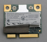 Модуль Wi-Fi & Bluetooth noname Wi-Fi+Bluetooth  модуль Mini PCI Expres Atheros ARS63-SB 802.11 B/G/N+BT Bluetooth 3.0 100 Мбит/с