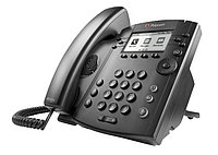 SIP телефон Polycom VVX 310 Skype for Business/Lync edition (2200-46161-019), фото 1