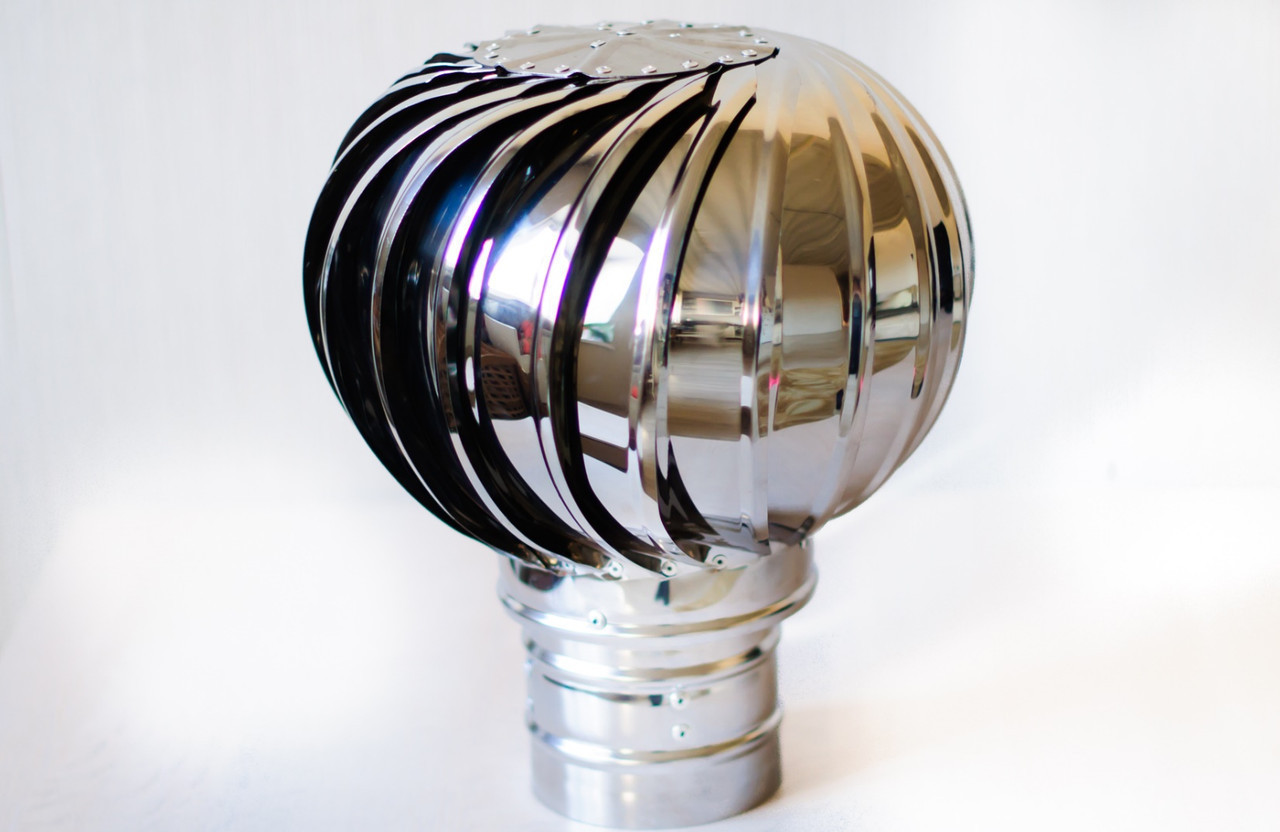 Ротационная вентиляционная турбина ТД300Оц