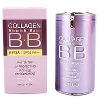 Cellio BB Cream Collagen Blemish Balm SPF40 PA++ -ББ крем для лица с коллагеном