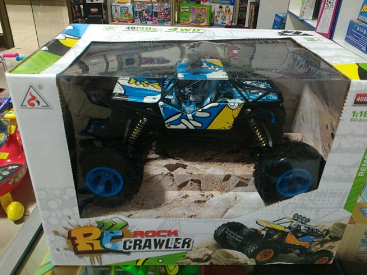 Джип ДУ Rock Crawler