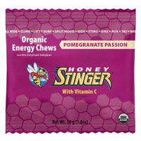 Конфеты дающие энергию Pomegranate Passion Fruit Organic Energy Chew