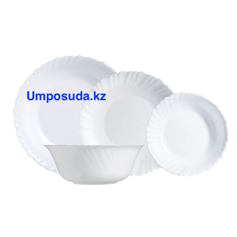 Столовый сервиз Luminarc ARCOPAL WHITE 19 предметов 6 персон