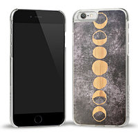DYED MOONS PRINTED BAMBOO CASE
