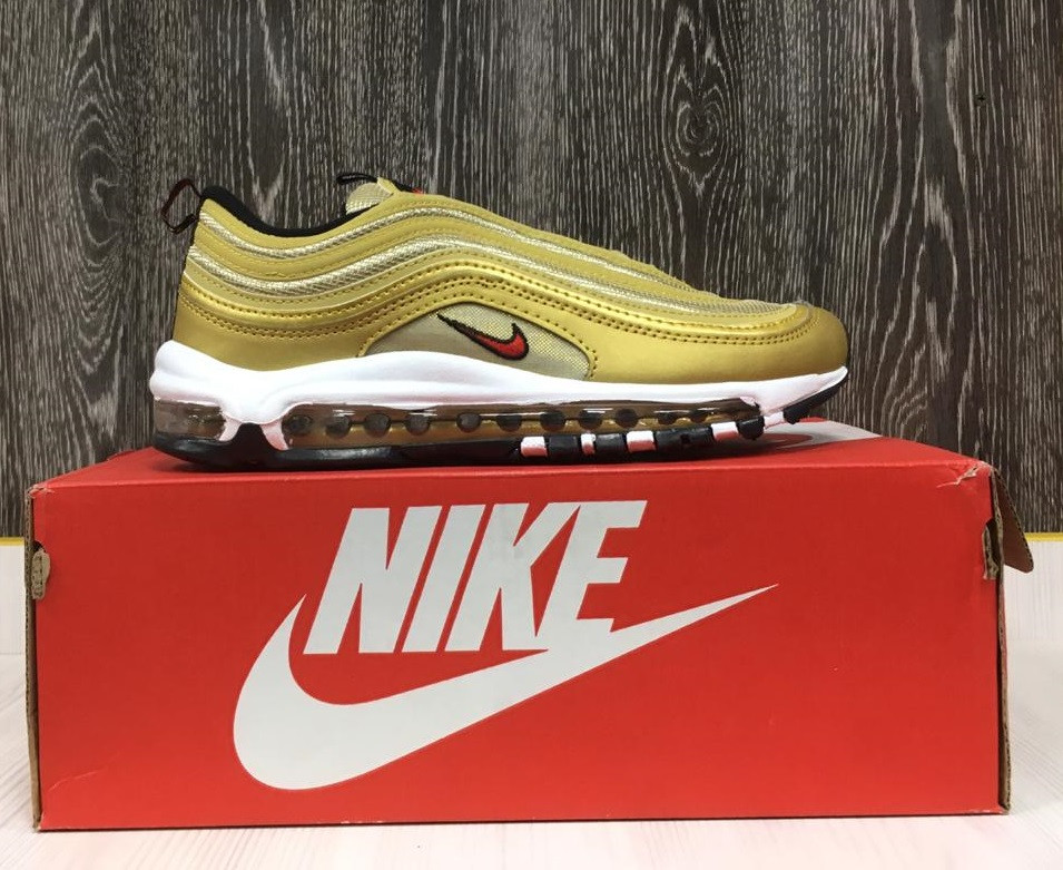 Кроссовки Nike Air Max 97 (Gold)