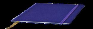 Блокнот Delhi, в точку,13*21, цвет фиолетовый