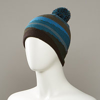 Auction Jacquard Hat With Pom