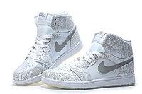 """Кожаные кроссовки Air Jordan 1 Retro """"Laser"""" (40-46), фото 3"""