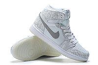 """Кожаные кроссовки Air Jordan 1 Retro """"Laser"""" (40-46), фото 4"""