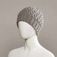 24Carrot Textured Knit Cuff Hat