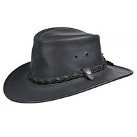 BC Hats Bac Pac Traveller Oily Australian Leather