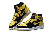 """Кожаные кроссовки Air Jordan 1 Retro """"Bruce Lee"""" (40-46), фото 3"""