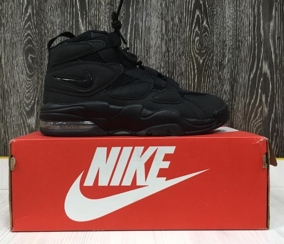 9f66e320 Кроссовки Nike Air Max Uptempo 2 (All Black) - Sneaker Mania в Алматы