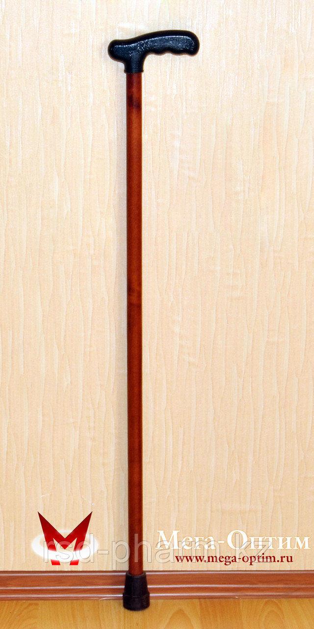 Трость деревянная ИПР-А (80 см) с устройством против скольжения