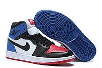 """Кожаные кроссовки Air Jordan 1 Retro """"Top-3"""" (36-47), фото 2"""