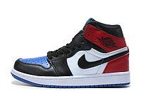 """Кожаные кроссовки Air Jordan 1 Retro """"Top-3"""" (36-47), фото 5"""