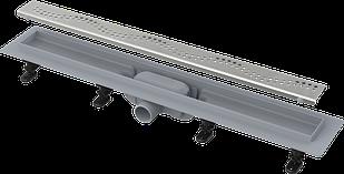 Универсальный водоотводящий желоб для любого типа плитки  ALCAPLAST APZ8-850М