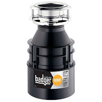 Badger 100 1/3 HP Continuous Feed Garbage Disposal