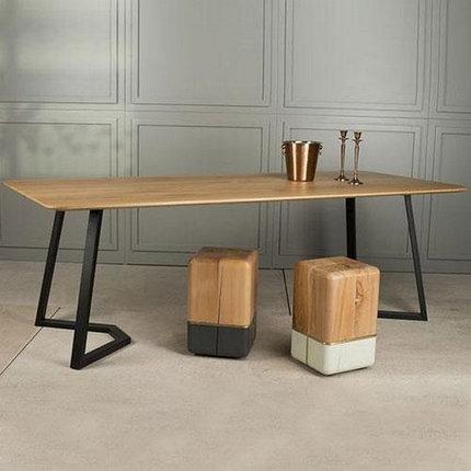 Стол Loft (столешница сосна, основание металл), фото 2
