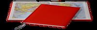 Ежедневник Tucson, не датированный + Атлас, белая бумага, 14,5*20,5, цвет Красный