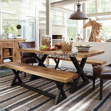 Комплект столовой мебели стиль Лофт , фото 2
