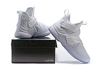 """Кроссовки Nike Lebron Zoom Soldier 12 (XII) """"All White"""" (40-46), фото 6"""