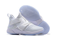 "Кроссовки Nike Lebron Zoom Soldier 12 (XII) ""All White"" (40-46)"