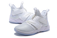 """Кроссовки Nike Lebron Zoom Soldier 12 (XII) """"All White"""" (40-46), фото 2"""