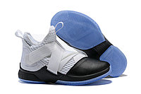 "Кроссовки Nike Lebron Zoom Soldier 12 (XII) ""Grey/ Black"" (40-46), фото 1"
