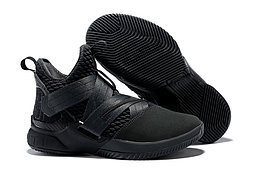 """Кроссовки Nike Lebron Zoom Soldier 12 (XII) """"All Black"""" (40-46)"""