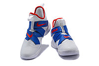 """Кроссовки Nike Lebron Zoom Soldier 12 (XII) """"White/ Blue/ Red"""" (40-46), фото 4"""