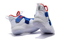 """Кроссовки Nike Lebron Zoom Soldier 12 (XII) """"White/ Blue/ Red"""" (40-46), фото 5"""