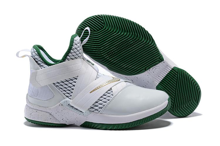 "Кроссовки Nike Lebron Zoom Soldier 12 (XII) ""Celtics"" (40-46)"