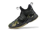 "Кроссовки Nike Lebron Zoom Soldier 12 (XII) ""Black Camo"" (40-46), фото 4"