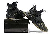 "Кроссовки Nike Lebron Zoom Soldier 12 (XII) ""Black Camo"" (40-46), фото 6"