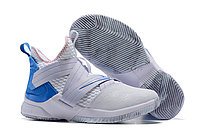 "Кроссовки Nike Lebron Zoom Soldier 12 (XII) ""White/ Blue"" (40-46)"