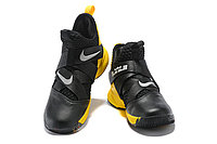 "Кроссовки Nike Lebron Zoom Soldier 12 (XII) ""Yellow/ Black"" (40-46), фото 3"