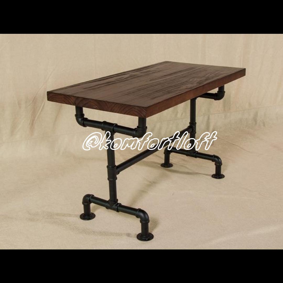 Стол для баров или кафе стиль Лофт (каркас из металла)