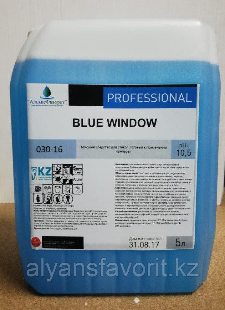 Blue Window - средство для мытья стеклянных поверхностей. 5 литров (улучшенная формула, концентрат)