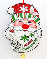 "Гирлянда ""MERRY CHRISTMAS"", картонная, 27 см"