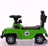 Толокар-каталка Jeep Wrangler WPH1688 3 в 1, хаки, фото 5